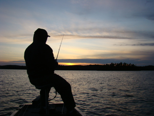 what fishing means