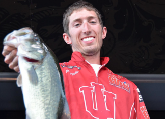 indiana university bass fishing