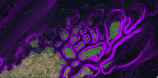 lake superior depth contours