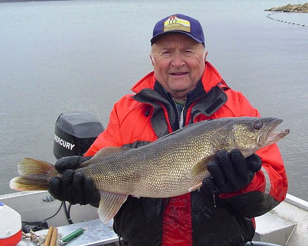 walleye from lake wisconsin