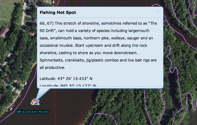 fishing hot spot