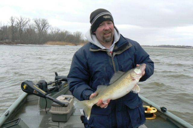 wisconsin river walleye
