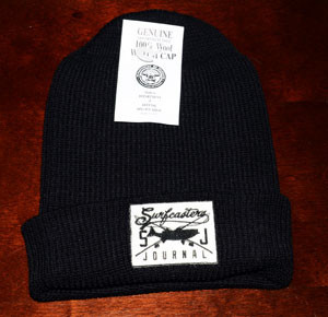 surfcastersjournal wool cap