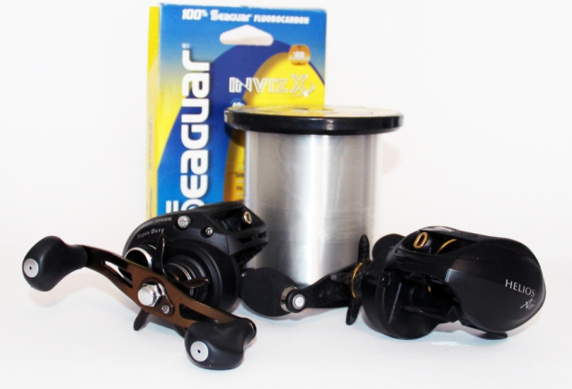 fishing reels and fluorocarbon line