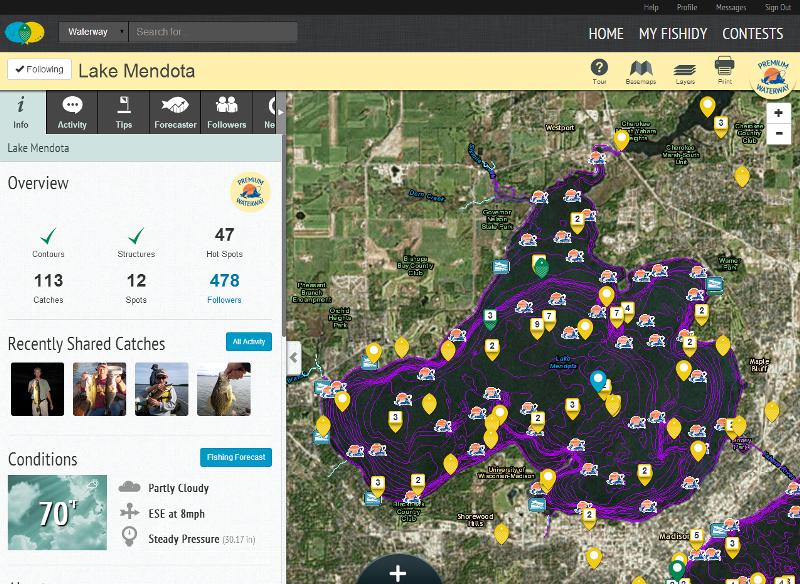 lake mendota waterway page