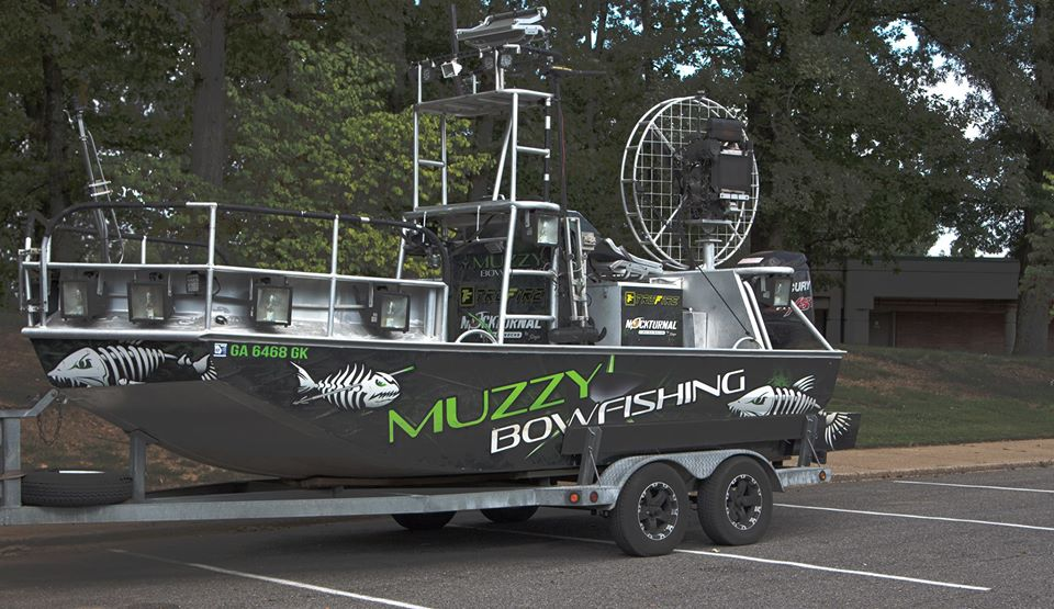 bowfishing boat
