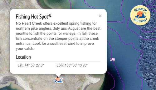 fishing hot spot