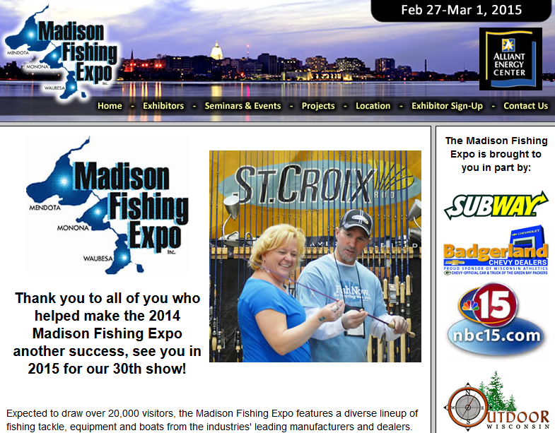 madison fishing expo