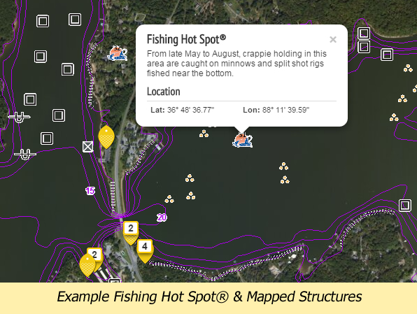 example fishing hot spot