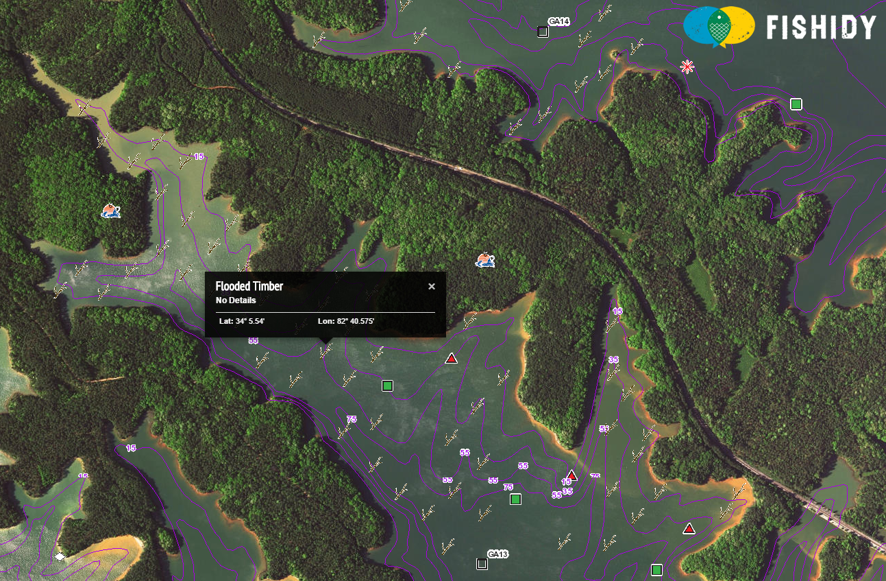 Lake Russell South Carolina