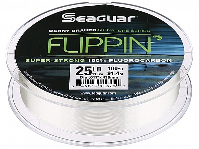 seaguar flippin fluorocarbon fishing line