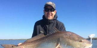 weston with redfish