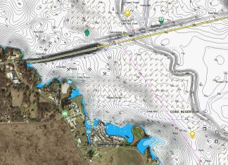 lake fork navionics map layer