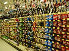 fishing aisle