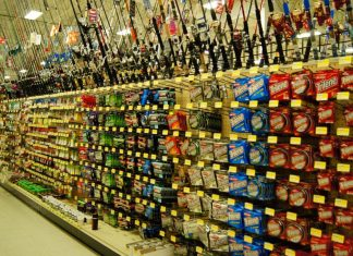 fishing aisle