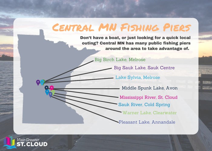 central mn fishing piers