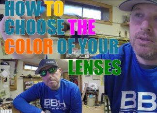 how to choose the color of your sunglasses lenses