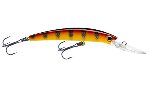 yo-zuri crystal minnow walleye deep diver hot perch