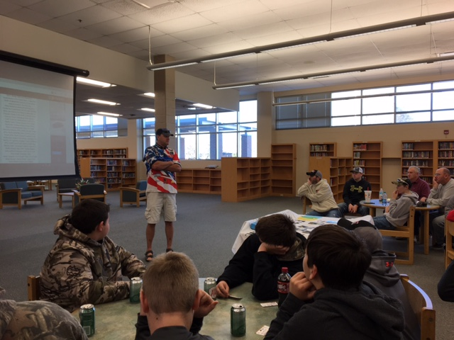 eddie teaching class