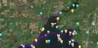 lake mendota fishing map - after