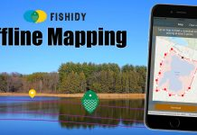 fishidy offline mapping